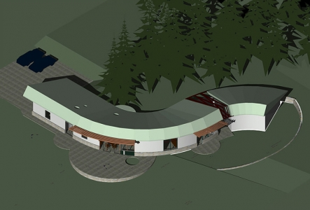 Holiday House CAD Rendering